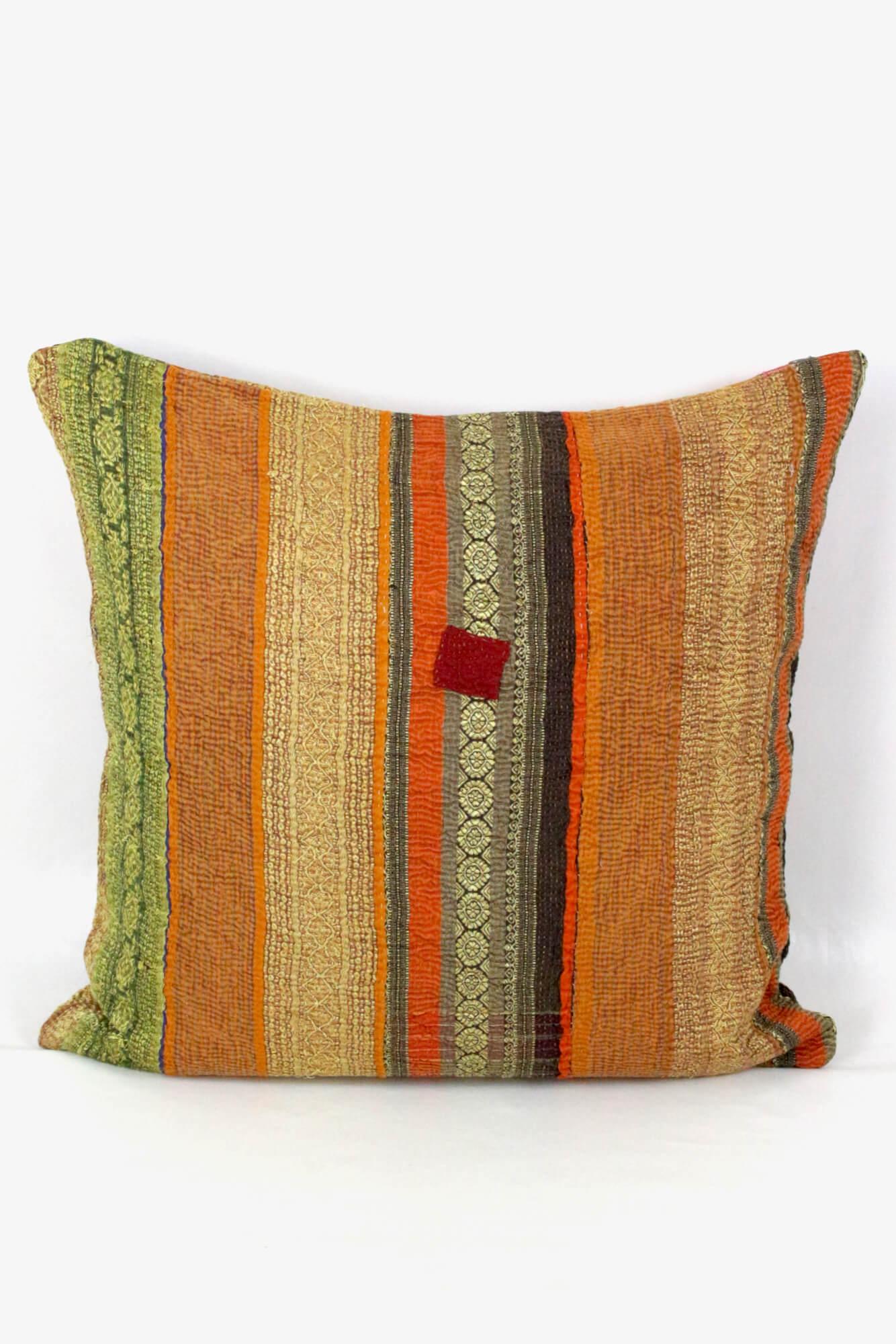 Buntes Boho Vintage Kissen Baumwolle, 60x60