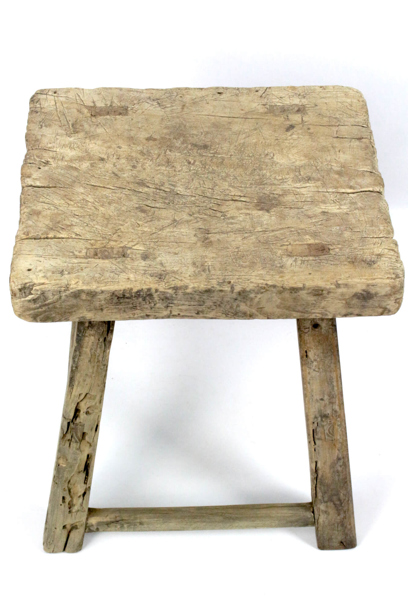 Chinesischer Hocker  / Tisch antik