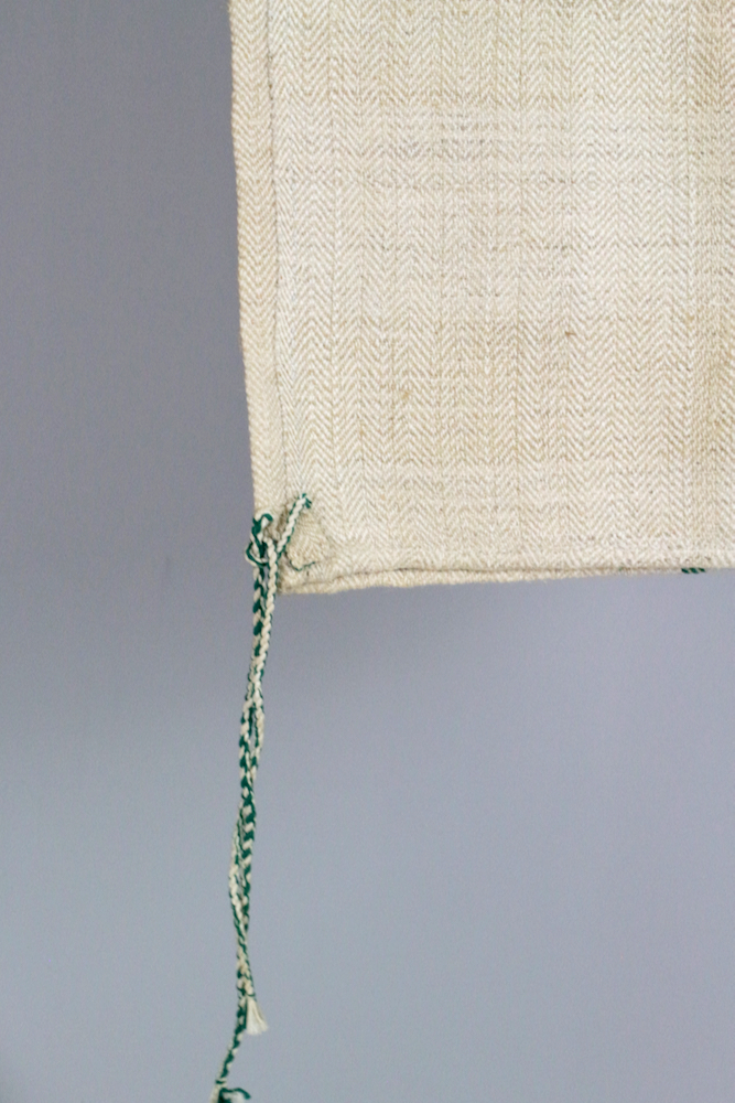 Alter Getreidesack handgewebt