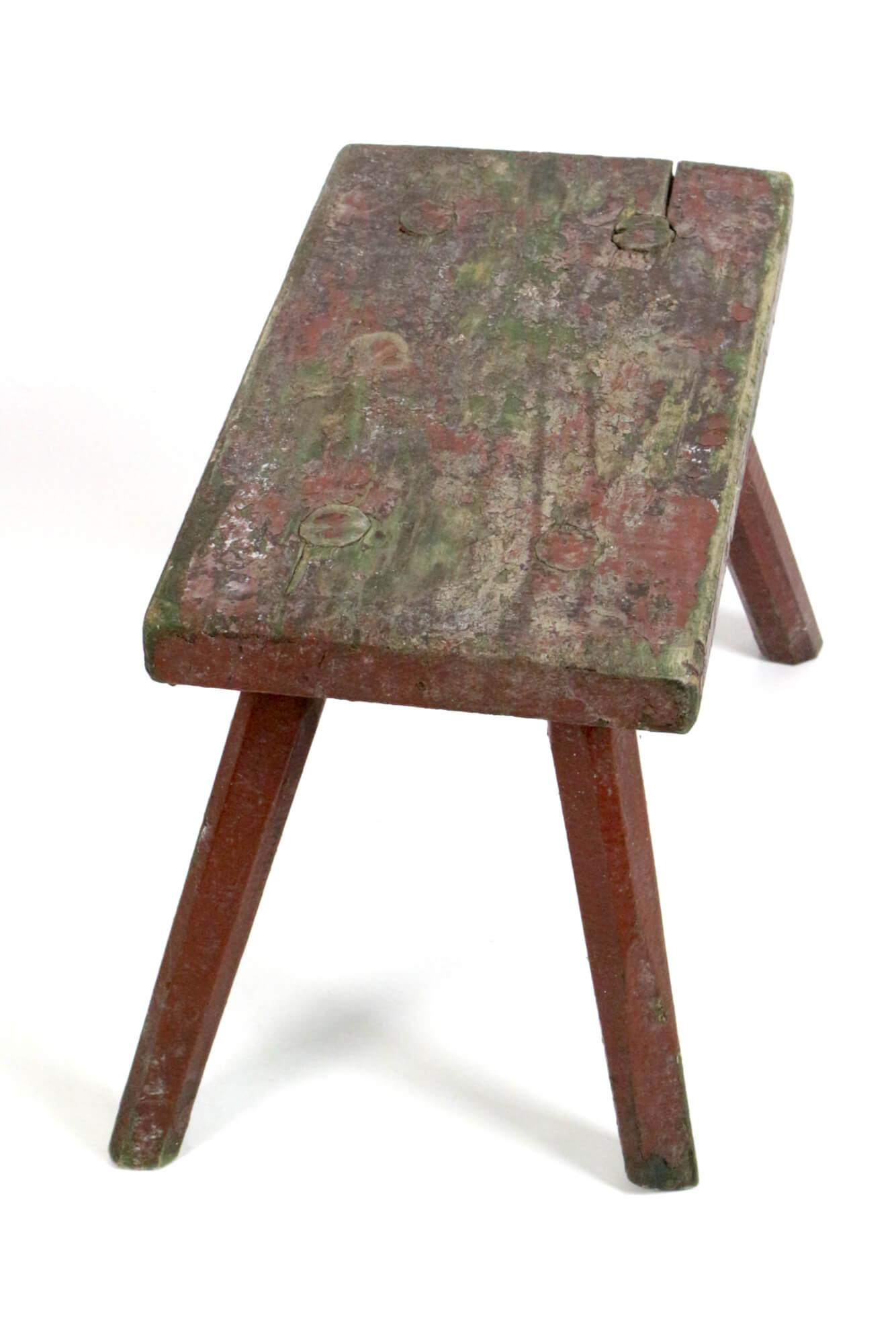 Antiker  Hocker rustikal