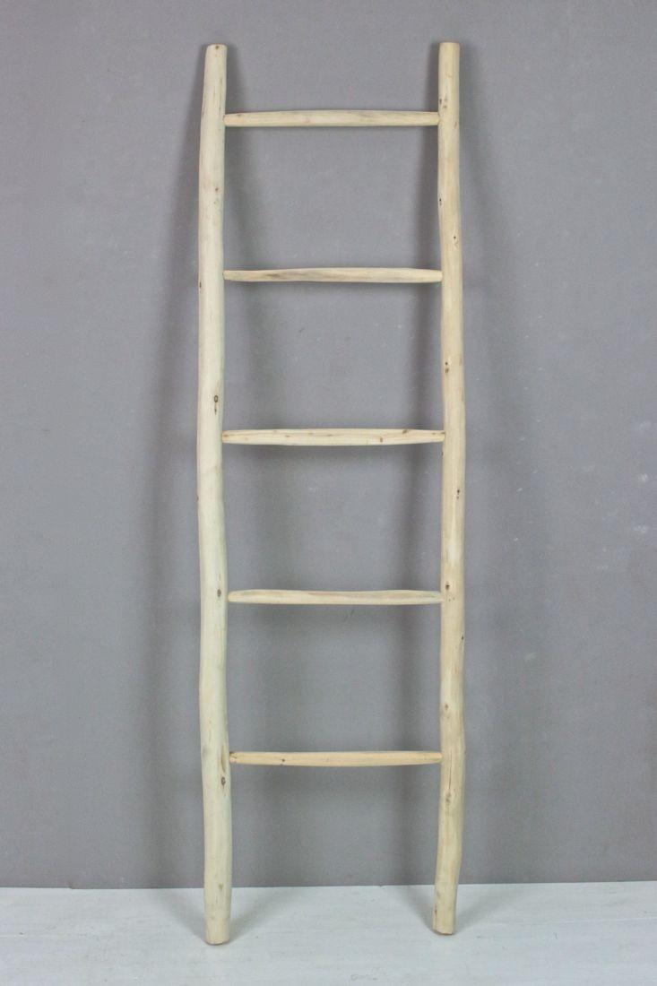 Holzleiter, helles Holz 170x50