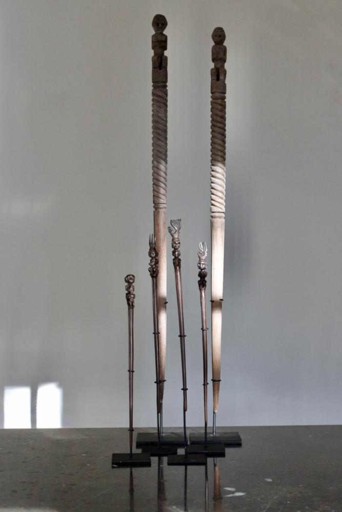 Art brut Figur aus Timor, 34 cm
