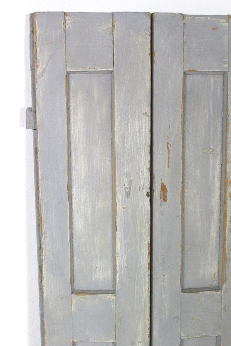 Fensterladen antik grau, 140x41