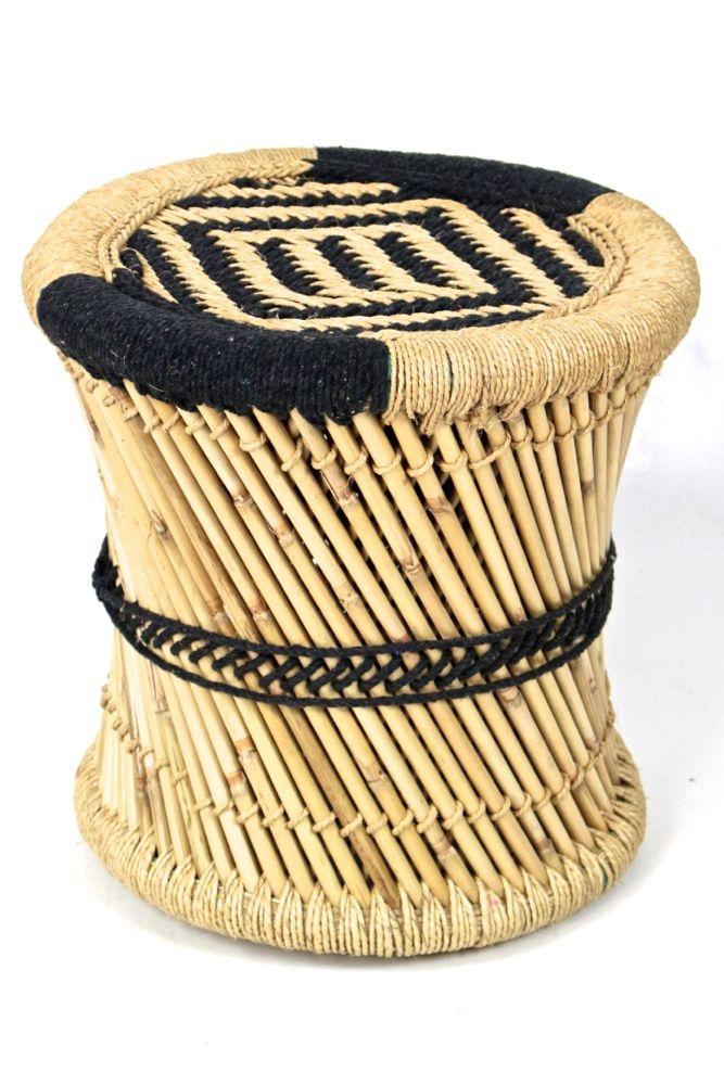 Hocker / Tisch aus Bambus L