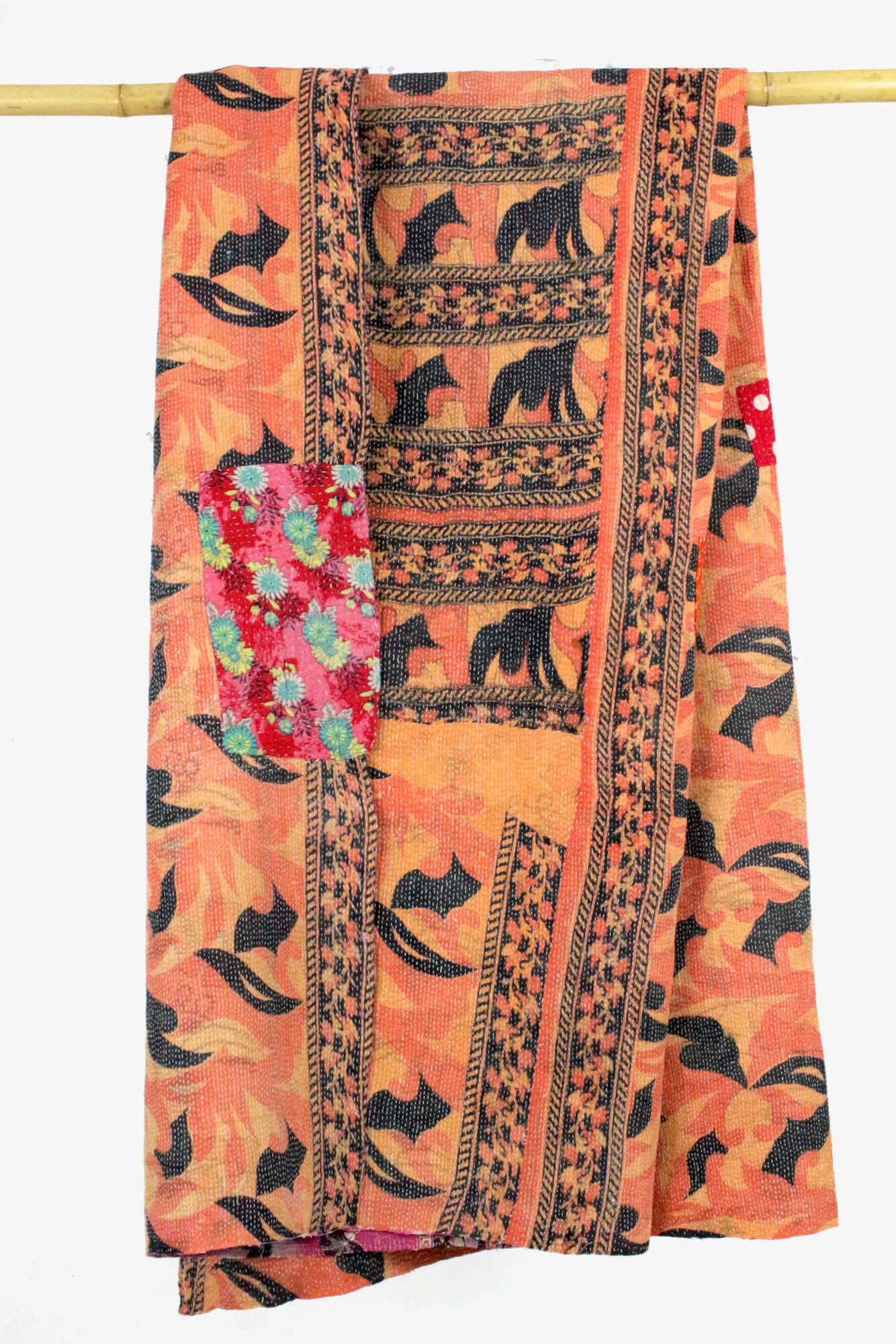 Boho Hippie Decke Indien