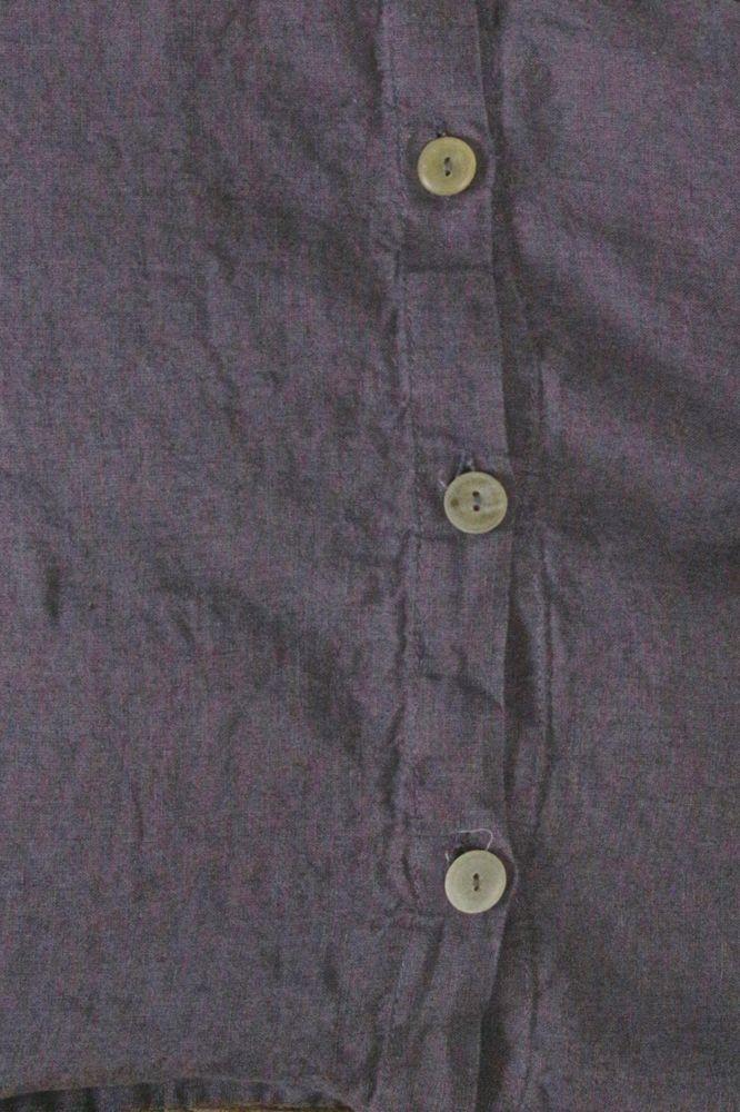 Kissenbezug aus gewaschenem Leinen - Mokka