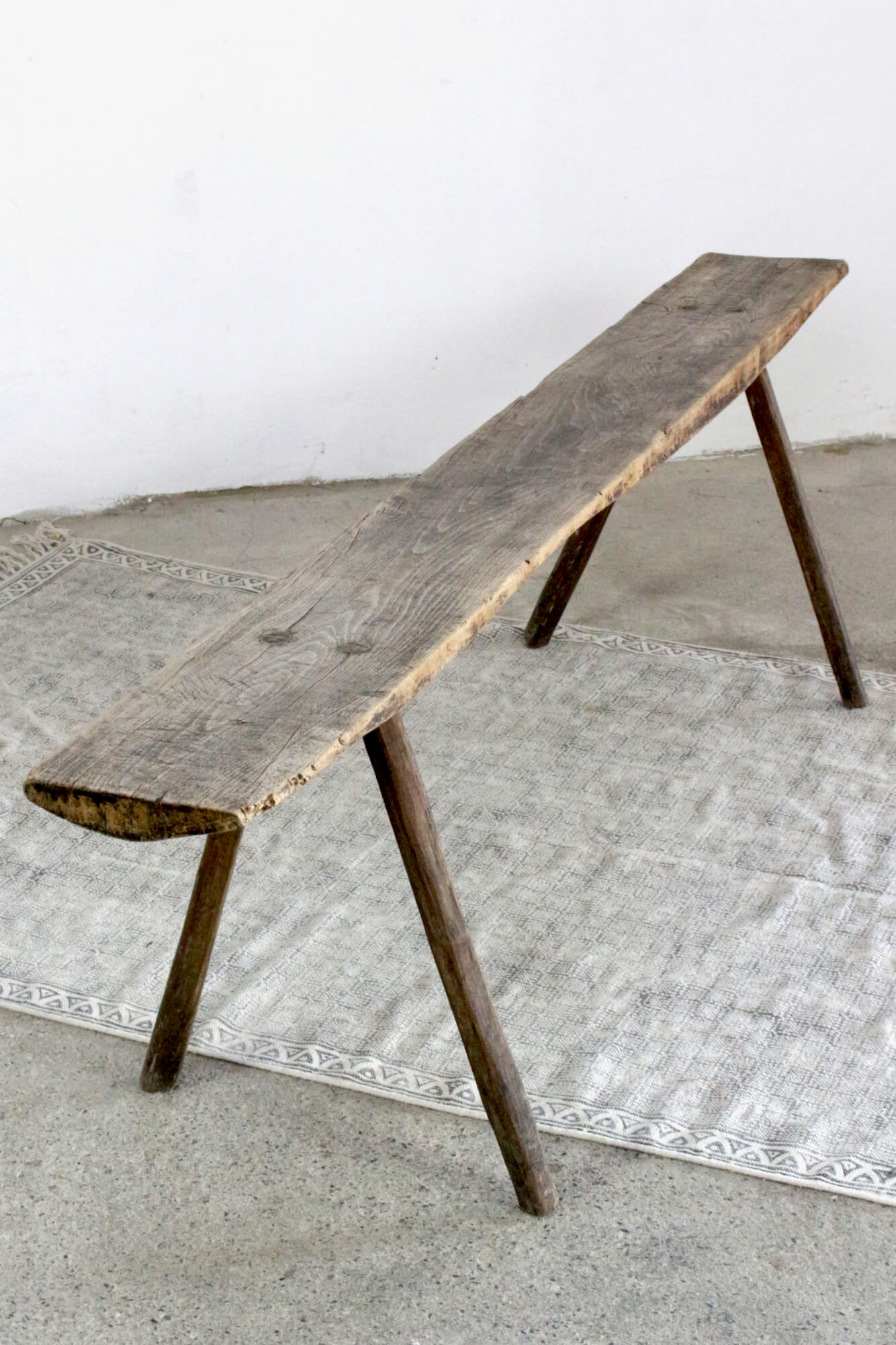 Antike Holzbank rustikal, 180 cm
