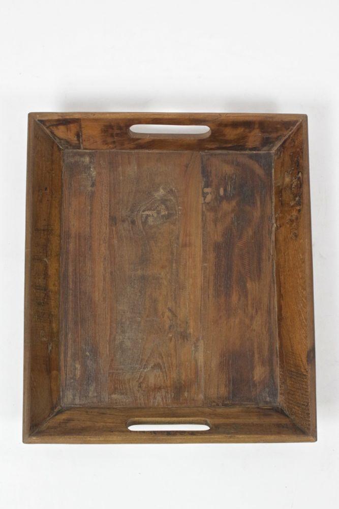 Holztablett quadratisch, 40x35
