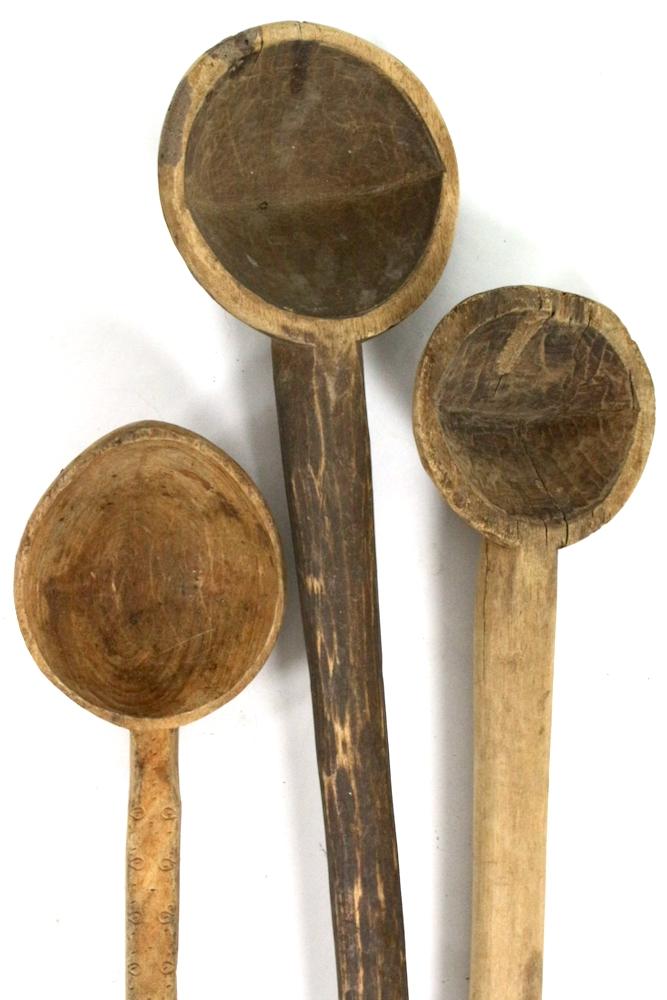 Holzkelle Indien antik, 75x12