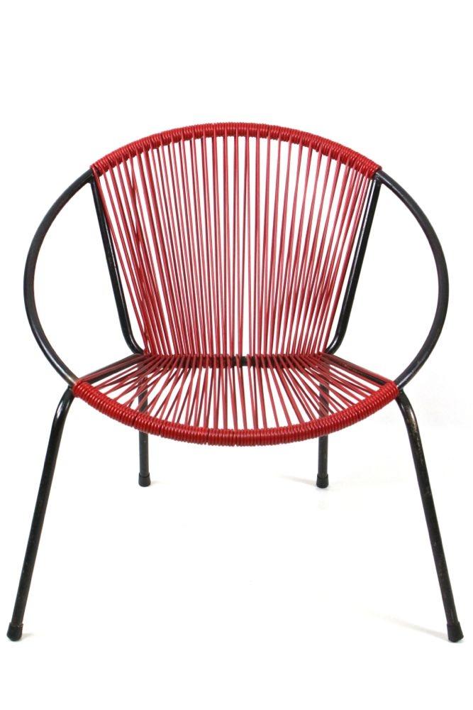 Vintage Spaghetti Lounge Sessel