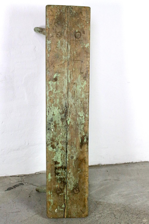 Bauernbank antik ohne Lehne 125 cm
