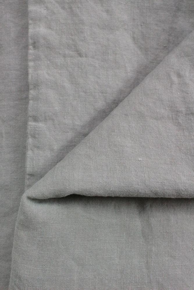 Bettwäsche Leinen stone washed, steingrau/taupe