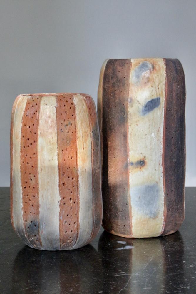 Keramikvase rustikal, 23xø15