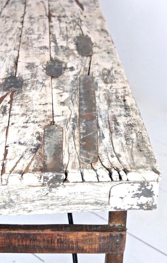 Konsolentisch antik weiß