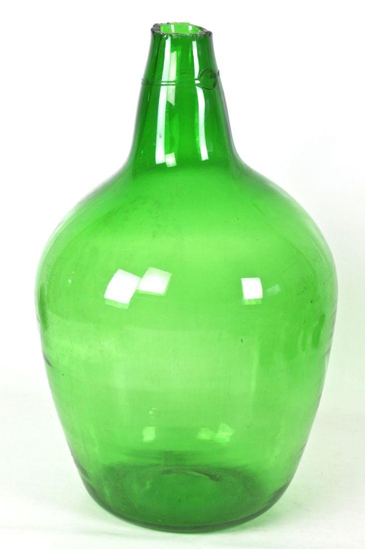 Riesiger Biedermeier  Weinballon mundgeblasen, 50 L