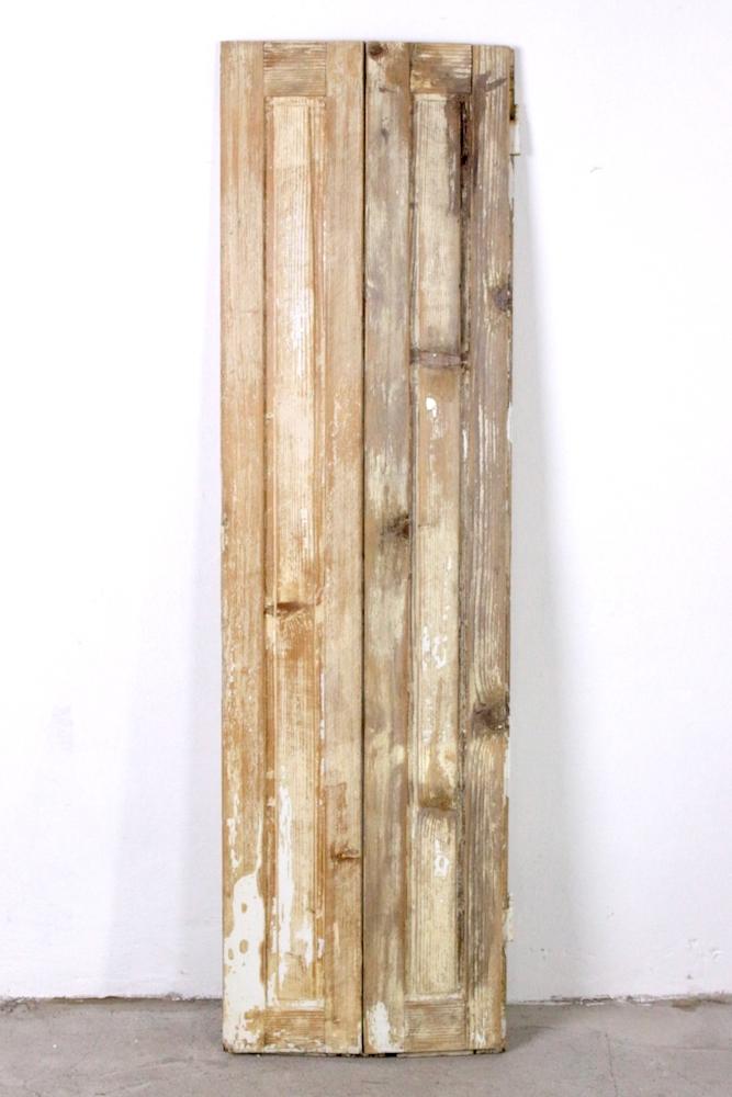 Alter Fensterladen Holz Shabby 166x48