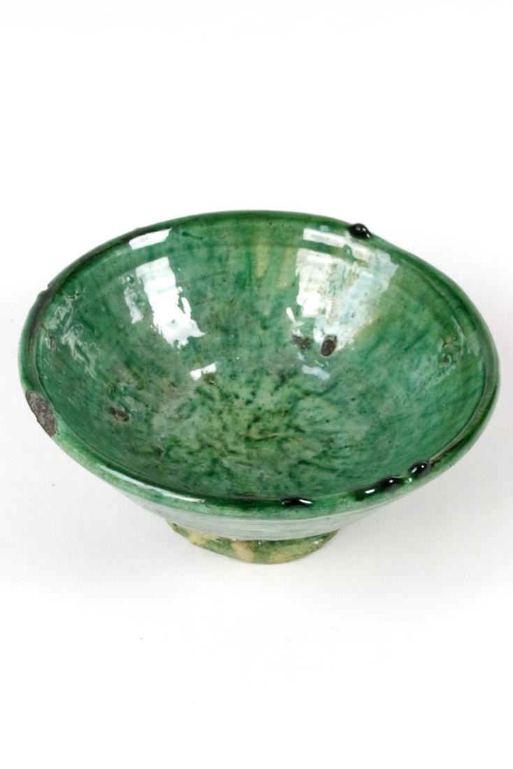 Tamgroute Schale grün, ø 19 cm