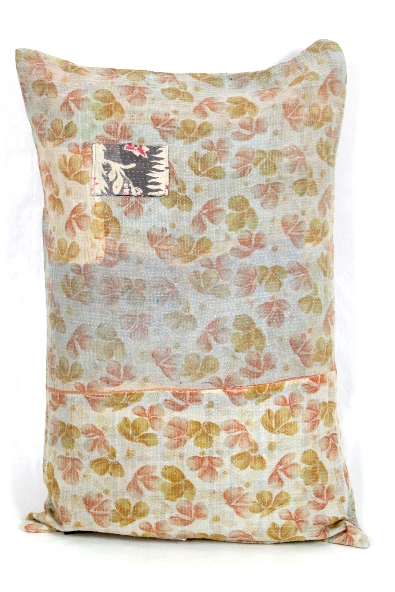 Bunter Kissenbezug aus Baumwolle, 60x40