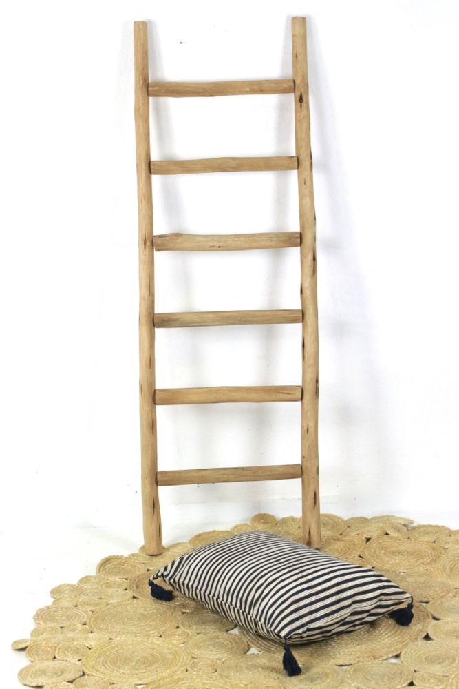 Leiter, Handtuchhalter aus Holz