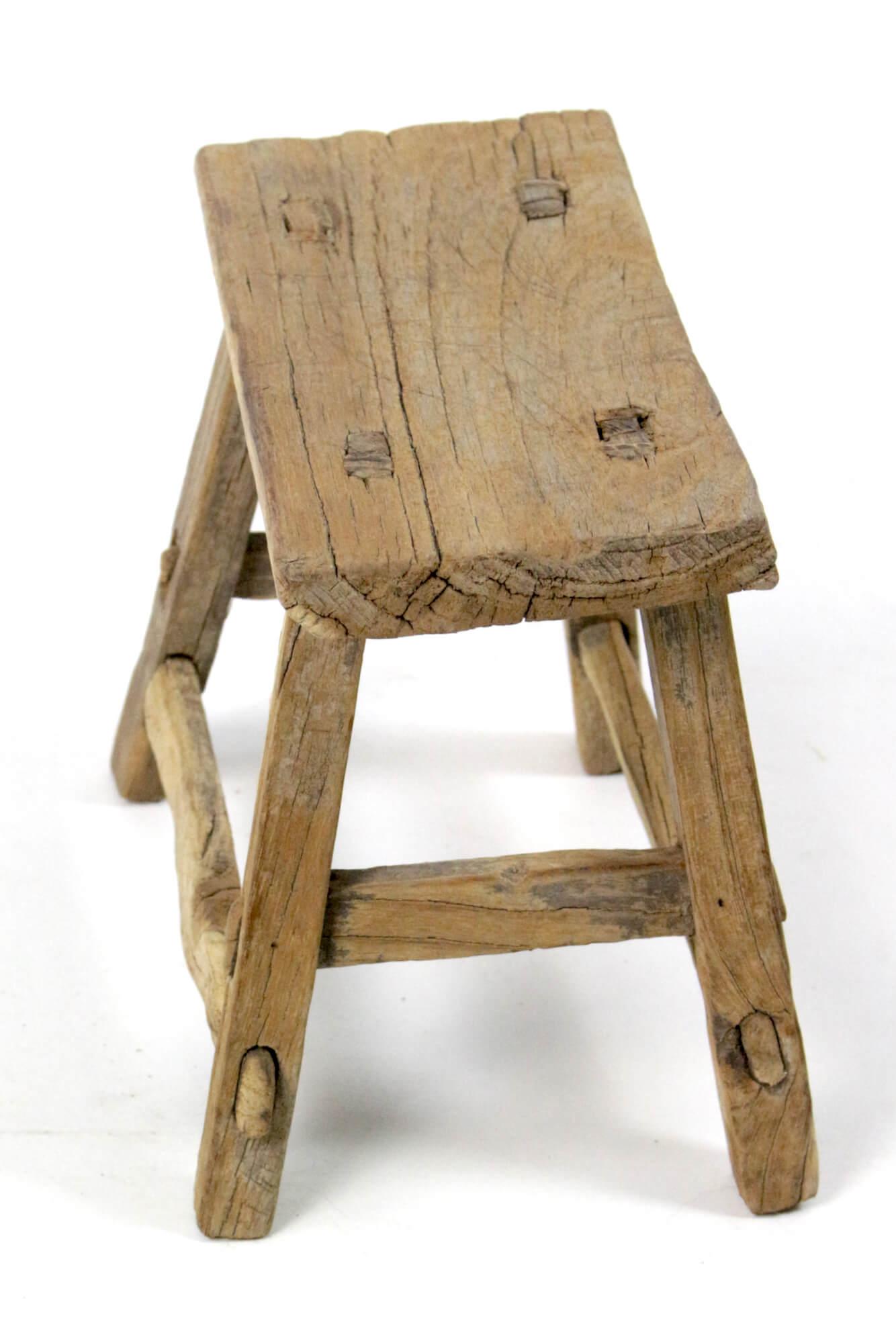 Holzschemel antik China