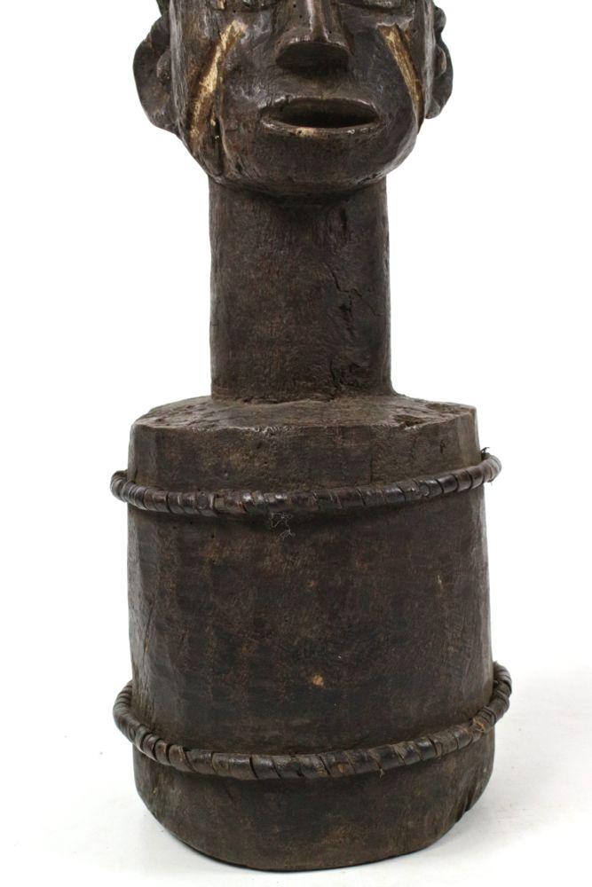 Yoruba Büste Holz antik, 58 cm