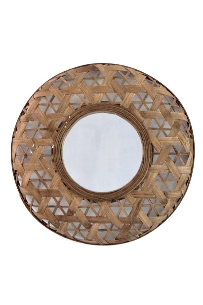 Bambus Spiegel, ø48