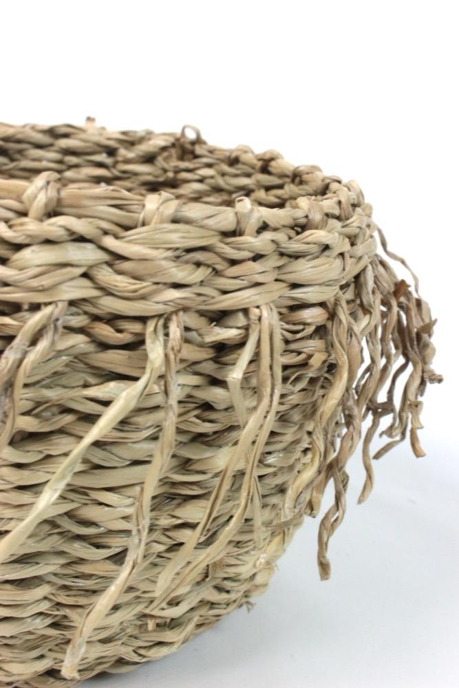 Boho Körbchen aus Seegras, 10xø15