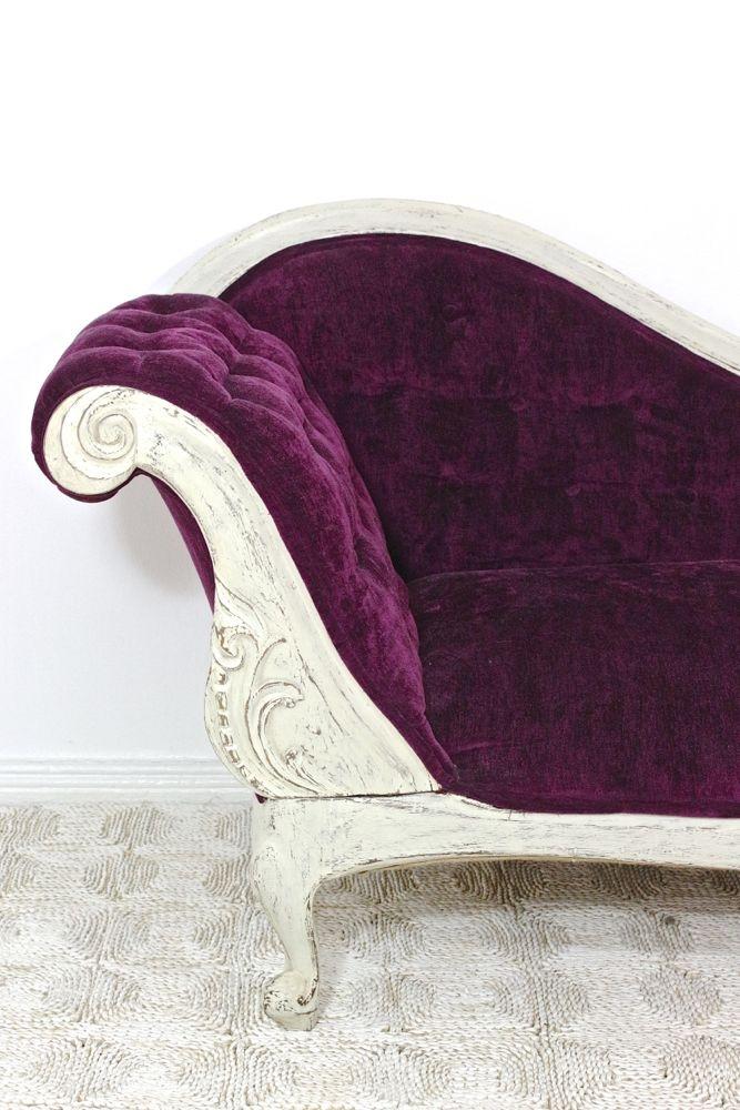 Antike Chaiselongue