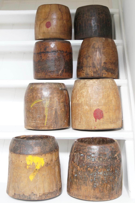 Holztopf antik rustikal